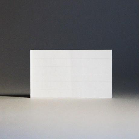 トッパンシール / メモ - 罫線