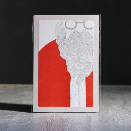 トッパンシール  + ポストカード / サンタクロース