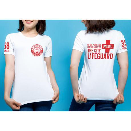 2021年夏の新作Tシャツ販売スタート!!【ホワイト/レッド】