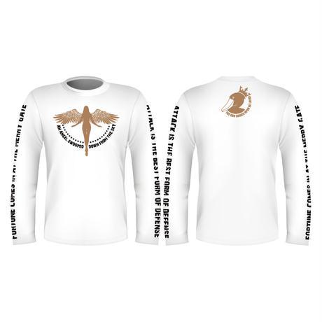 【ホワイト登場!!】ロングTシャツ「天使降臨」