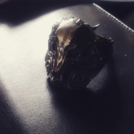 Beast Skull Ring - SV925
