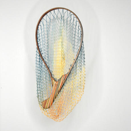 Recycled Skateboard  Landing net MEDIUM