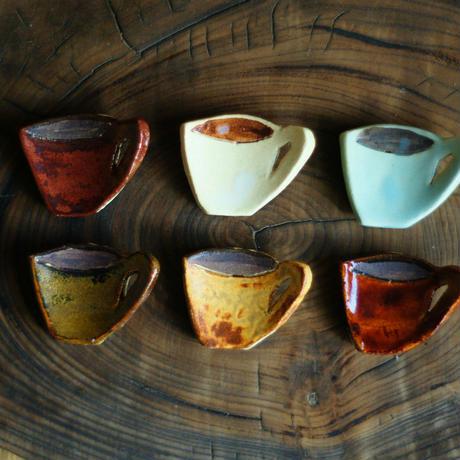 コーヒーカップの箸置き6個セット