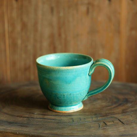 コーヒーカップ(トルコ青)