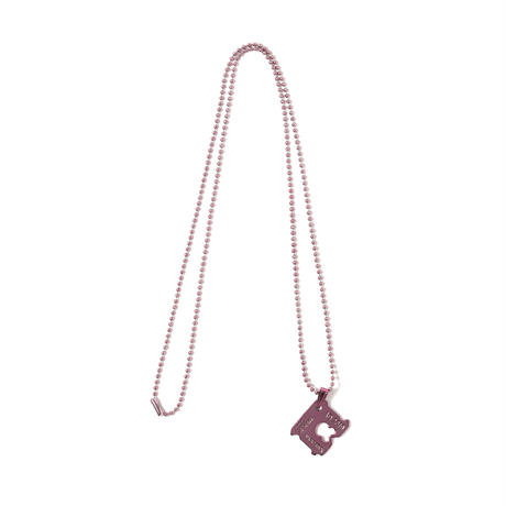 CUTTING BREAD CLOSER NECK LACE(PINK)