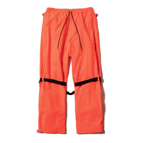 RAVERS NYLON BONDAGE PANTS(CITY ORANGE)