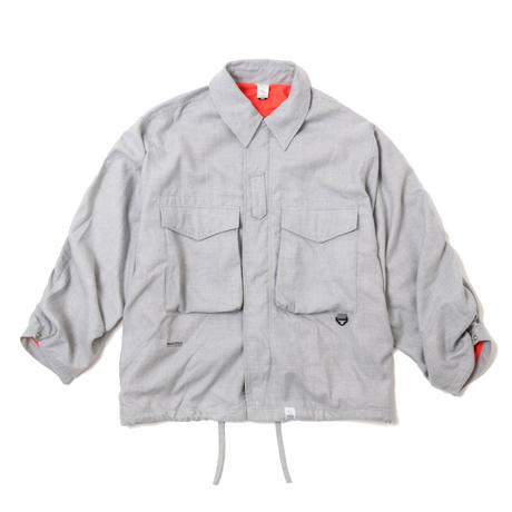 COZY BDU JACKET (GREY)