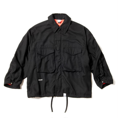 COZY BDU JACKET (BLACK)