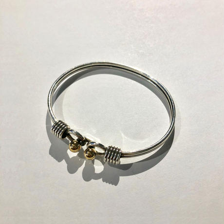 Tiffany / W Hook & Eye Bracelet