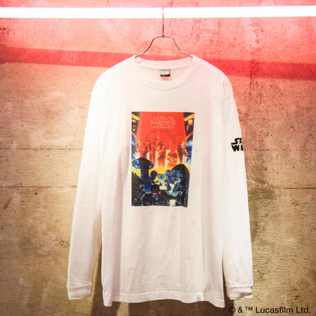 """STAR WARS"" official PARTY EVERYDAY LS TEE"