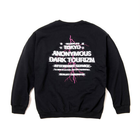 DARK TOUR MERCH CREW SWT (BLACK)