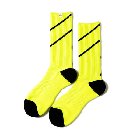 COMFY LINED SOCKS(VOLT YELLOW)