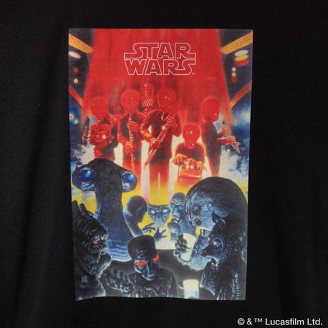 "[COLLABORATION]  ""STAR WARS"" official PARTY EVERYDAY LS TEE"