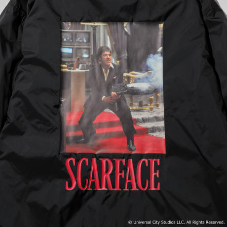 SCARFACE COACH JACKET