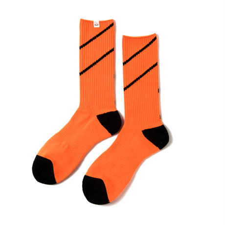 COMFY LINED SOCKS(NEON ORANGE)