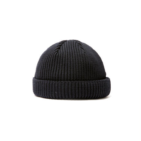 SHORT LENGTH BALL WATCH CAP(BLACK)