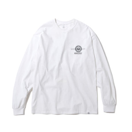 FUCKED UP NOW LS TEE(WHITE)