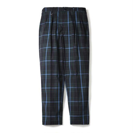 M.S.LAB PLAID TROUSERS