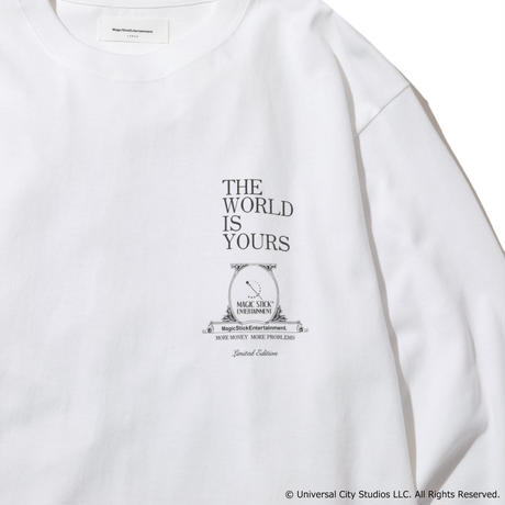 [SCARFACE LIMITED COLLECTION ]  THE WORLD IS YOURS LS T