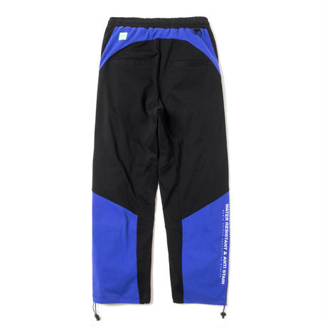 Water resistant Tech Pants (PURPLExBLACK)