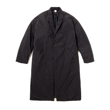 TK PUFFER CHESTER COAT (BLACK)