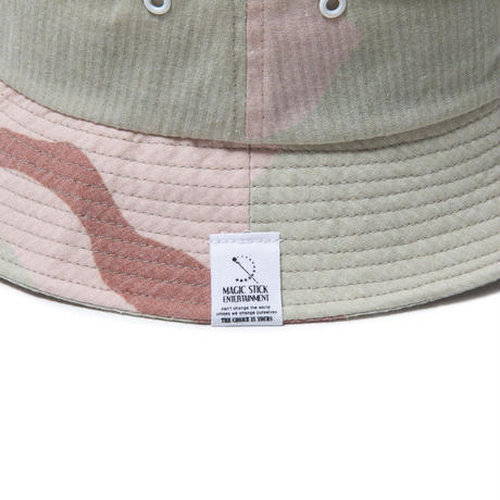 SEER SUCKER BUCKET HAT