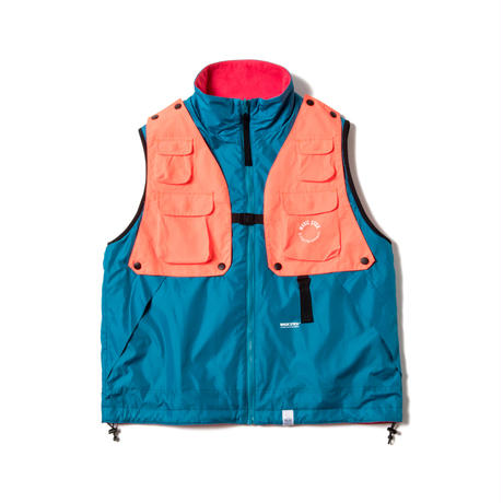 DETOUCHABLE 3 WAY LO VEST(ORANGE)