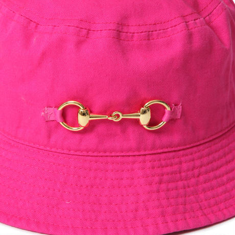 BIT BUCKET HAT (HOT PINK)