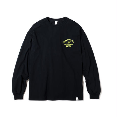 HAPPY ENDING CLUB MERCH LS TEE(BLACK)
