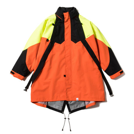 3LAYER FUTURE COAT (VIVID ORANGE)
