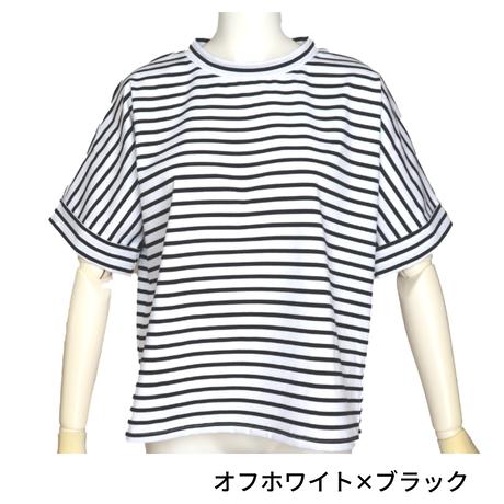 コンプレッションボーダー / 半袖プルオーバー [No.1407]