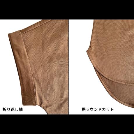 コンプレッションジャージ / 袖ロール / カットソー [No.1423]