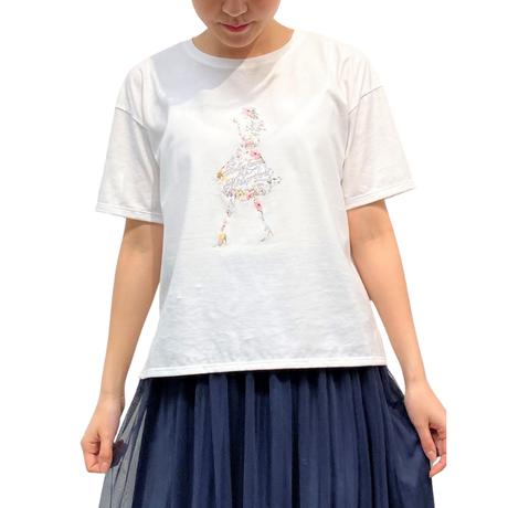 マーセライズ天竺 / プリントTシャツ [No.1416]