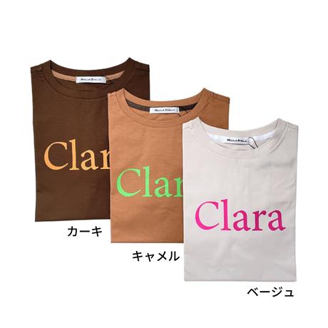 ハイストレッチ / スムース /  ロゴ / Tシャツ [No.1463]