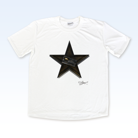MAGO×BRING T-shirt【The Plastic BoyBroken Music Player In The Black Star】No.1008