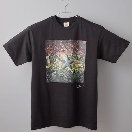 【長坂真護】Tシャツ「Ghana's Flag」(オーガニックコットン)