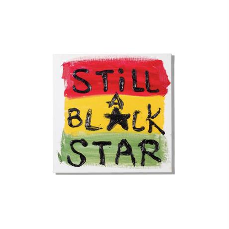 【長坂真護】Tシャツ「Still A Black Star 2019」(オーガニックコットン)