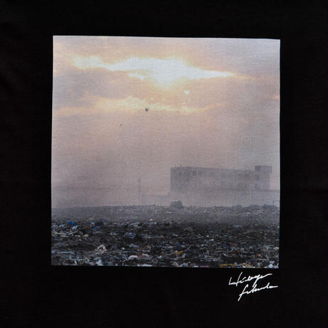 【Photo by 福田秀世】Tシャツ「E waste sea 2」(オーガニックコットン)