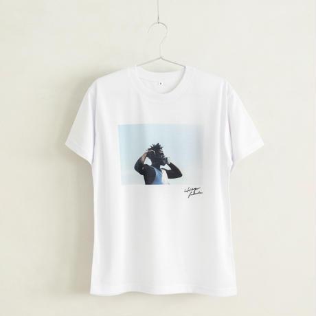 【Photo by 福田秀世】Tシャツ「Breathe」(リサイクルポリエステル)