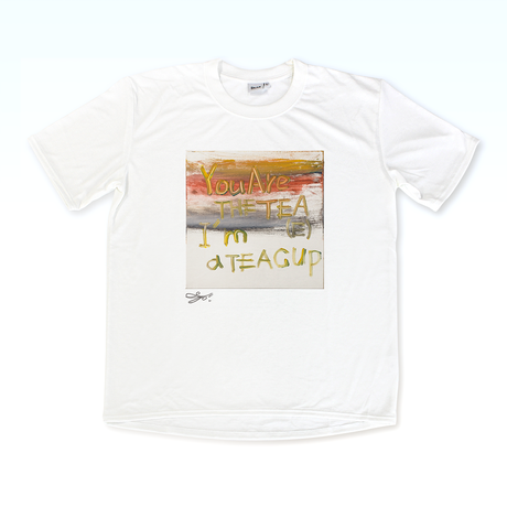 MAGO×BRING T-shirt【I'm a TEA CUP】No.3097