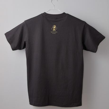 【長坂真護】Tシャツ「Going to be plastics」(オーガニックコットン)