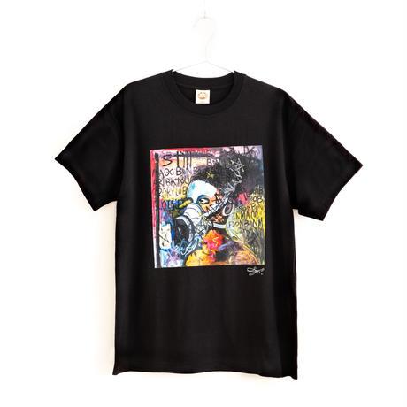 【長坂真護】Tシャツ「BONBO IN MAGO」(オーガニックコットン)