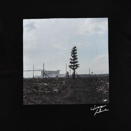 【Photo by 福田秀世】Tシャツ「E waste tree」(オーガニックコットン)