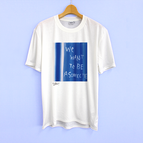MAGO×BRING T-shirt【We want to be a some one】No.3126