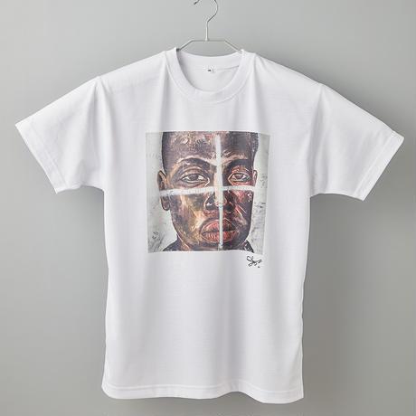 【長坂真護】Tシャツ「Relativity on You」(リサイクルポリエステル)