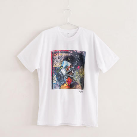 【長坂真護】Tシャツ「BONBO IN MAGO」(リサイクルポリエステル)
