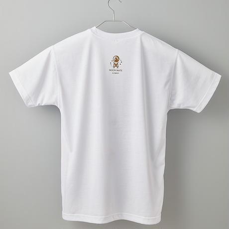 【長坂真護】Tシャツ「内界は外界であり、外界は内界であって、内界は外界である」(リサイクルポリエステル)