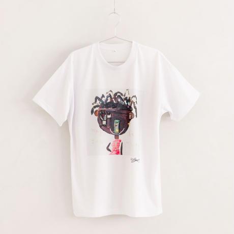 【長坂真護】Tシャツ「Maybe I'm カワイイ」(リサイクルポリエステル)