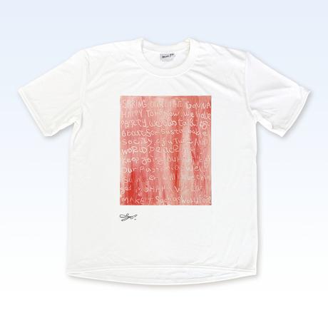 MAGO×BRING T-shirt【SPRING HASCOME】No.2141