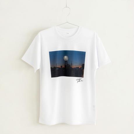 【Photo by 福田秀世】Tシャツ「Moon tower Agbogbloshie 1」(リサイクルポリエステル)